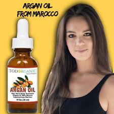 Aceite 1 Oz  De Argan Para el Cabello, Piel, Cara Y Uñas - 100% Natural Orgánico