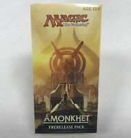 Magic the Gathering Amonkhet Prerelease Pack Kit Brand New Factory Sealed MTG