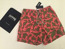 New w Tags & Bag Authentic Vilebrequin Moorea Swim Trunks Pink - Men Size L