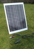 20 W MONOCRYSTALLINE  SOLAR PANEL 20 WATTS  BATTERY CHARGER  12V PV-with DIODE