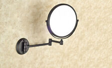 Oil Rubbed Brass Bathroom Shaving Beauty Makeup Magnify Mirror Dual Side mba628