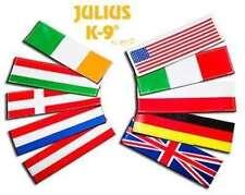 Julius K9 USA flag labels, small