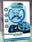 NEW ~ Mindscope Sky Lighter Disc Drone Blue Light Up LED Glow Stunt Action