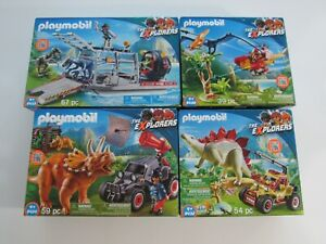 man scientist saurus team 4170 aa220 Playmobil dinosaur
