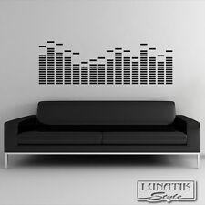 Wandtattoo Wandaufkleber Music Graphic Equalizer - WA79