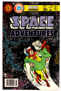 SPACE ADVENTURES #12 in VF a 1979 Charlton comic with CAPTAIN ATOM by DITKO