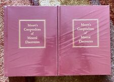 Moore'S Compendium Of Mineral Discoveries, 2 vols, Hardcover, 2016, New, Rare!