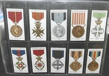 CHROMOS ORDRES ET DÉCORATIONS  MILITAIRES - WAR DECORATIONS & MEDALS - N°2