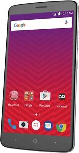 """BRAND NEW!!  Virgin Mobile ZTE Max XL N9560 6"""" 16GB Android 4G LTE"""