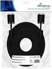 Mediarange VGA Monitor Kabel 25 m schwarz
