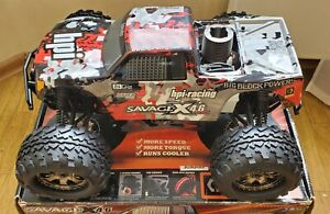 Hpi Racing Savage X 4.6 NEW IN BOX