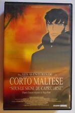 RARE VHS CORTO MALTESE SOUS LE SIGNE DU CAPRICORNE cassette video