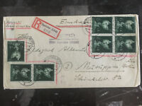 1944 Speicher Germany Cover to Neuruppin