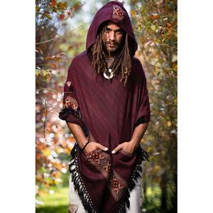 Medieval Renaissance Viking Men Casual Tops Tunic Shirt Pirate Halloween Cosplay
