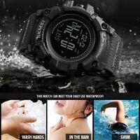 SKMEI Men Smart Watch Sport Altimeter Barometer Thermometer Compass Wrist Watch