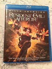 RESIDENT EVIL: AFTERLIFE BLU-RAY MOVIE 2010 ACTION SCI-FI MILLA JOVOVICH