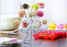 Stand Présentoir à Pop Cake 3 Etages 18 Pop Fete Mariage Bapteme Anniversaire