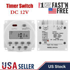 12V Digital LCD Relay Switch Weekly Programmable Electronic Time Timer -US Stock photo