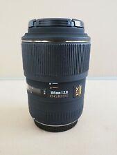 Sigma EX DG Macro 105mm F2.8 Lens Olympus 4/3