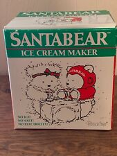 1987 Dayton Hudson Santa Bear Ice Cream Maker Mint In Box