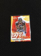 Knowshon Moreno Autographed Denver Broncos Certified ROOKIE Football Card