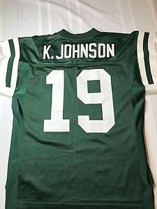 New York Jets Starter Keyshawn Johnson Pro Line Player 1998 Jersey 48/Large RARE