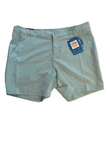 "Columbia Omni-wick 50 UPF Womens Shorts Size 12 6"" Inseam Fishing Gear"