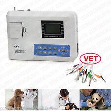 CONTEC vet Veterinary 1 Channel ECG EKG machine electrocardiograph CE DC/AC