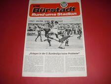 1984/85 FRIENDLY VFR BURSTADT V DUNDEE UTD