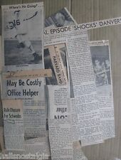 9/22/1960 (50) Interesting Boston Herald News Clippings on Variety of Subjects