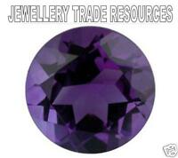 4.5mm ROUND NATURAL DEEP PURPLE AMETHYST GEM GEMSTONE