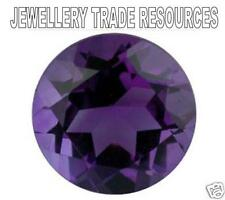 4mm ROUND naturale DEEP PURPLE Amethyst Gemstone GEM