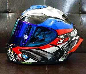 Moto Full Face Motorcycle DOT Helmet X14 RRS HP44 Marquez Anti-fog visor Helmet