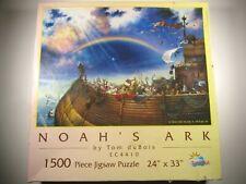 1997 SunsOut NOAH'S ARK Tom duBois 1500 piece Jigsaw Puzzle EC4410 Complete