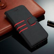 Handytasche für iPhone XR XS Samsung S9 S9+ Wallet Case Leder Schutz Hülle Etui