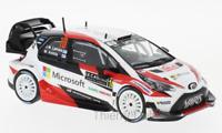 Toyota Yaris WRC 10 Rallye Monte Carlo 2017  J.M.Latvalla ixo 1/43