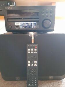 Denon RCD-M40DAB DAB/DAB+ Micro HI-FI CD Receiver - Black
