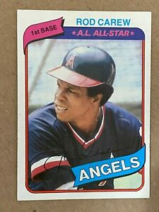 Topps 1980 #700 A.L. All-Star Rod Carew - California Angels