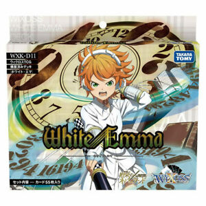 TAKARA TOMY WIXOSS WXK-D11 TCG PRE-CONSTRUCTED DECK WHITE EMMA PACK WX13795
