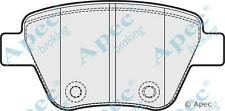 Apec PAD1751 Rear Brake Pads Seat Leon Skoda Superb VW Golf Bosch Calipers