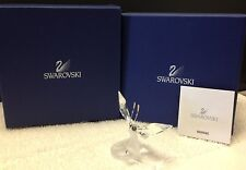 SWAROVSKI BUTTERFLY ON LEAF 0182920 IN ORIGINAL BOX WITH PAPERWORK