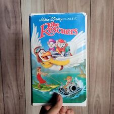 The Rescuers (VHS, 1992) Black Diamond Edition #1399 Classic