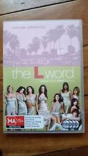 THE L WORD COMPLETE THIRD SEASON 4 DISC SET NEAR NEW TV SERIES MOVIE