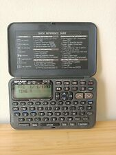 REDUCED ~ SHARP ZQ-1050 Electronic Organiser 10KB, With Manual ~ Excellent cond