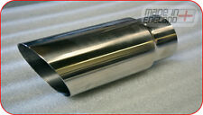 "2.5""- 3"" inch high grade stainless steel exhaust tailpipe, trim, tip"