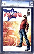 AMERICA'S GOT POWERS #1  CGC 9.8 WHITE PAGES