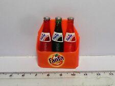 1:12 Scale 3 Fanta Bottles In A Case Dolls House Miniature Pub - Bar Accessory