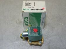 "Asco Ht8210G094 Red Hat Solenoid Valve. 150Psi, 1/2"" Pipe 10.1W 120V/60Hz"