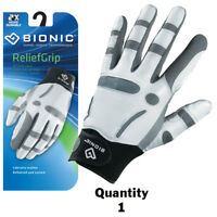 1 x Bionic Mens Arthritic ReliefGrip Golf Glove - Left Hand - White $33.95 ea