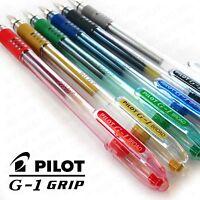 Pilot G1 Grip - Broad Tip Gel Ink Rollerball - 1.0mm - Range of 6 colours
